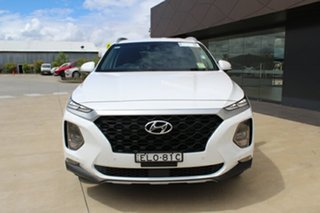 2020 Hyundai Santa Fe TM.2 MY20 Active X White Cream 8 Speed Sports Automatic Wagon