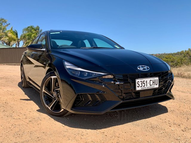 Demo Hyundai i30 PD.3 MY20 N Line D-CT Premium Nailsworth, 2020 Hyundai i30 PD.3 MY20 N Line D-CT Premium Phantom Black 7 Speed Sports Automatic Dual Clutch