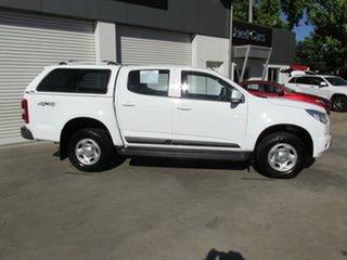 2016 Holden Colorado LS LS Crew Cab White 6 Speed Automatic Utility.