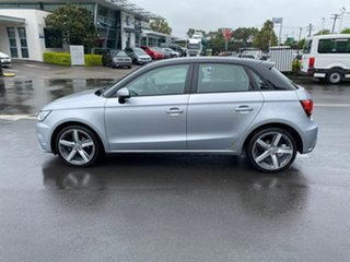 2016 Audi A1 8X MY16 Sportback S Tronic Silver 7 Speed Sports Automatic Dual Clutch Hatchback