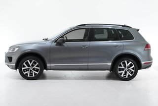 2018 Volkswagen Touareg 7P MY18 Monochrome Tiptronic 4MOTION Grey 8 Speed Sports Automatic Wagon