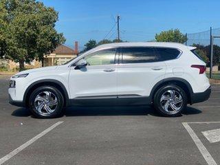 2020 Hyundai Santa Fe Tm.v3 MY21 Active DCT White Cream 8 Speed Sports Automatic Dual Clutch Wagon.