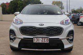 2019 Kia Sportage QL MY19 GT-Line AWD Silver 8 Speed Sports Automatic Wagon