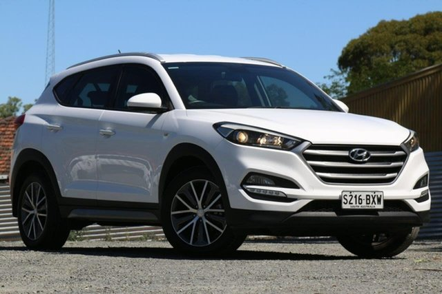 Used Hyundai Tucson TL Active X 2WD Clare, 2016 Hyundai Tucson TL Active X 2WD White 6 Speed Sports Automatic Wagon