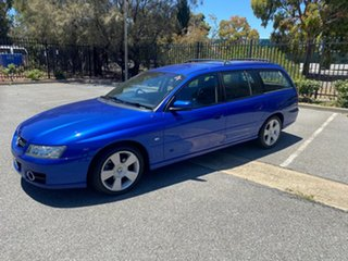 2006 Holden Commodore VZ MY06 SVZ Blue 4 Speed Automatic Wagon.