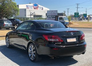 2012 Lexus IS GSE20R IS250 C Sports Luxury Black 6 Speed Sports Automatic Convertible