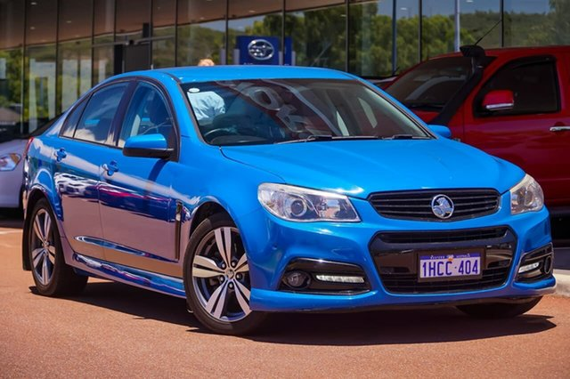 Used Holden Commodore VF MY14 SS Gosnells, 2014 Holden Commodore VF MY14 SS Blue 6 Speed Sports Automatic Sedan