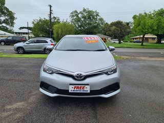 2015 Toyota Corolla ZRE182R MY15 Ascent Silver 7 Speed Automatic Hatchback