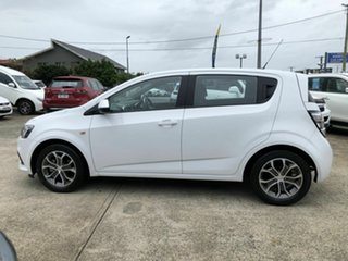 2017 Holden Barina TM MY18 LS White 6 Speed Automatic Hatchback.