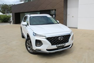 2020 Hyundai Santa Fe TM.2 MY20 Elite White Cream 8 Speed Sports Automatic Wagon.