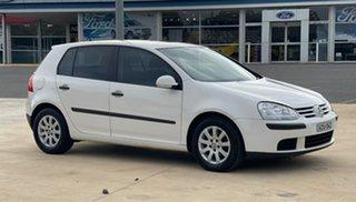 2006 Volkswagen Golf Comfortline White Sports Automatic Dual Clutch Hatchback.