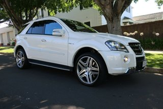 2010 Mercedes-Benz M-Class W164 MY10 ML63 AMG White 7 Speed Sports Automatic Wagon