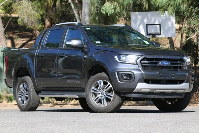 Used Ford Ranger PX MkIII 2020.25MY Wildtrak Clare, 2019 Ford Ranger PX MkIII 2020.25MY Wildtrak Grey 6 Speed Sports Automatic Double Cab Pick Up