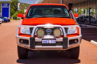 2012 Nissan Navara D40 S6 MY12 ST Red 6 Speed Manual Utility
