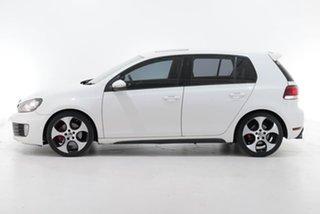 2010 Volkswagen Golf VI MY10 GTI DSG White 6 Speed Sports Automatic Dual Clutch Hatchback