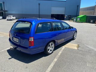 2006 Holden Commodore VZ MY06 SVZ Blue 4 Speed Automatic Wagon