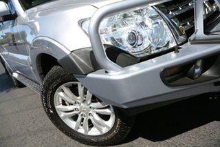 2014 Mitsubishi Pajero NW MY14 VR-X Silver 5 Speed Sports Automatic Wagon.