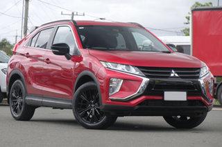 2019 Mitsubishi Eclipse Cross YA MY20 Black Edition 2WD Diamond Red/ 8 Speed Constant Variable Wagon.