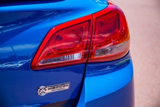2014 Holden Commodore VF MY14 SS Storm Blue 6 Speed Sports Automatic Sedan