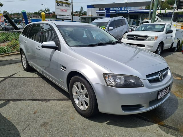 Used Holden Commodore VE MY09.5 Omega Sportwagon Mount Gravatt, 2009 Holden Commodore VE MY09.5 Omega Sportwagon Silver 4 Speed Automatic Wagon