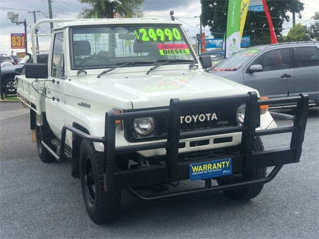Used Toyota Landcruiser HJ75RP (4x4) Archerfield, 1990 Toyota Landcruiser HJ75RP (4x4) White 5 Speed Manual Cab Chassis