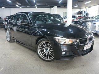2014 BMW 3 Series F30 MY1114 320d M Sport Black 8 Speed Sports Automatic Sedan.