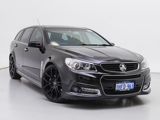 Used Holden Commodore VF SS-V, 2013 Holden Commodore VF SS-V Black 6 Speed Automatic Sportswagon