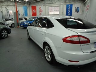 2009 Ford Mondeo MB Zetec White 6 Speed Sports Automatic Hatchback