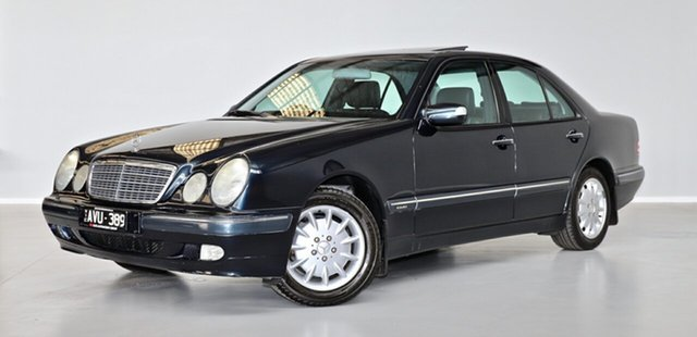 Used Mercedes-Benz E-Class W210 MY01 E240 Elegance Thomastown, 2001 Mercedes-Benz E-Class W210 MY01 E240 Elegance Blue 5 Speed Sports Automatic Sedan