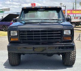 1982 Ford F100 Black 3 Speed Automatic Utility.