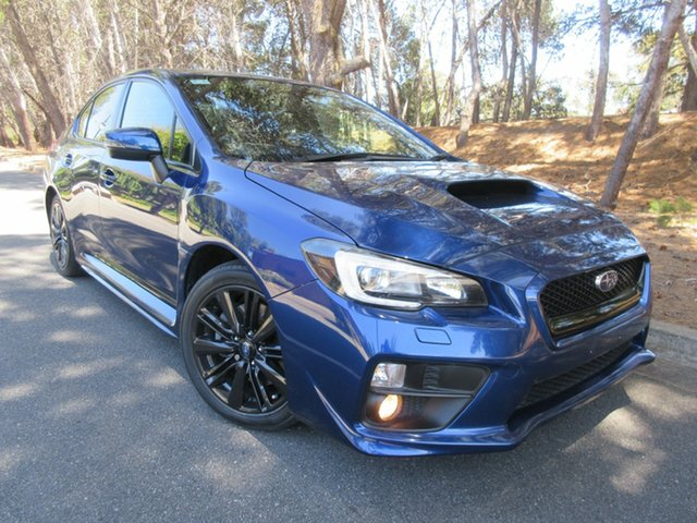 Used Subaru WRX V1 MY15 Premium Lineartronic AWD Reynella, 2014 Subaru WRX V1 MY15 Premium Lineartronic AWD Blue 8 Speed Constant Variable Sedan