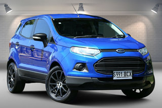 2014 Ford Ecosport BK Ambiente Blue 5 Speed Manual Wagon.