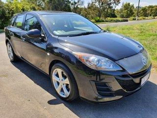 2010 Mazda 3 BL Series 1 Neo Black Sports Automatic Hatchback.
