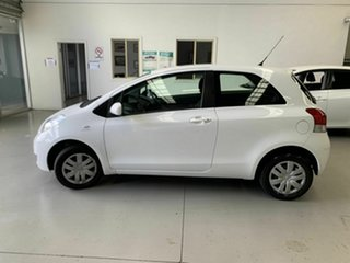 2011 Toyota Yaris NCP130R YR White 5 Speed Manual Hatchback