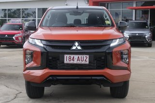 2020 Mitsubishi Triton MR MY21 GSR Double Cab Sunflare Orange 6 Speed Sports Automatic Utility