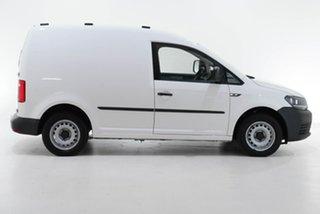 2017 Volkswagen Caddy 2KN MY17.5 TSI160 SWB Runner White 5 Speed Manual Van