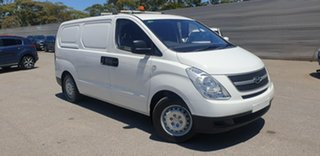 2014 Hyundai iLOAD TQ2-V MY14 White 5 Speed Automatic Van.
