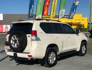 2013 Toyota Landcruiser Prado KDJ150R Altitude White 5 Speed Sports Automatic Wagon