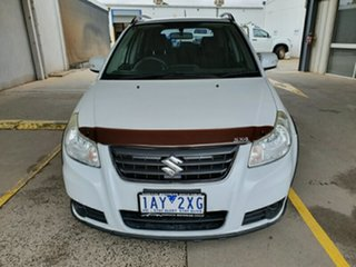 2013 Suzuki SX4 GYA MY13 Crossover Navigator White 6 Speed Constant Variable Hatchback.