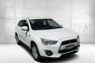 2012 Mitsubishi ASX Platinum Platinum 2WD White 6 Speed Automatic Wagon.