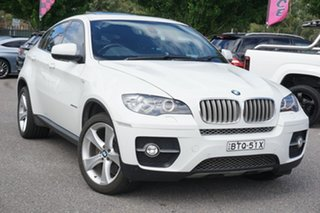 2010 BMW X6 E71 MY10.5 xDrive40d Coupe Steptronic White 8 Speed Sports Automatic Wagon.