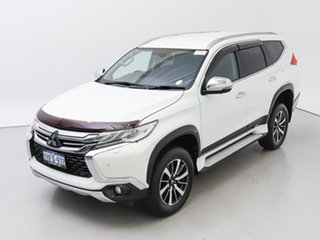 2017 Mitsubishi Pajero Sport MY16 Exceed (4x4) 7 Seat White 8 Speed Automatic Wagon