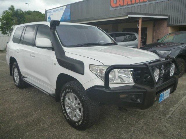 Used Toyota Landcruiser VDJ200R MY10 GXL Morayfield, 2012 Toyota Landcruiser VDJ200R MY10 GXL White 6 Speed Sports Automatic Wagon