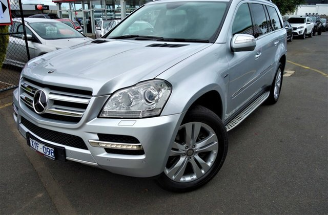 Used Mercedes-Benz GL-Class X164 MY10 GL350 CDI Luxury Seaford, 2010 Mercedes-Benz GL-Class X164 MY10 GL350 CDI Luxury Silver 7 Speed Sports Automatic Wagon