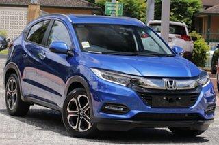 2020 Honda HR-V MY21 VTi-LX Brilliant Sporty Blue 1 Speed Constant Variable Hatchback.