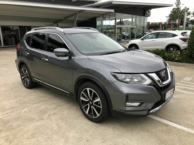 Used Nissan X-Trail T32 Series II Ti X-tronic 4WD Yamanto, 2018 Nissan X-Trail T32 Series II Ti X-tronic 4WD Grey 7 Speed Constant Variable Wagon
