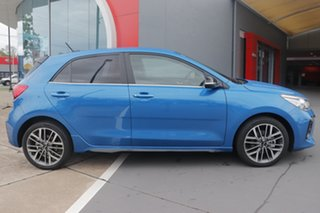 2020 Kia Rio YB MY21 GT-Line DCT Sporty Blue 7 Speed Sports Automatic Dual Clutch Hatchback.