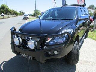 2016 Mazda BT-50 XTR XTR Black 6 Speed Automatic Dual Cab.