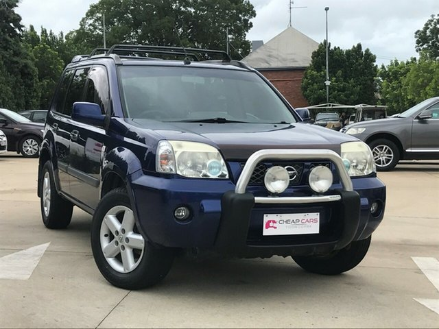 Used Nissan X-Trail T30 MY06 ST (4x4) Toowoomba, 2007 Nissan X-Trail T30 MY06 ST (4x4) Blue 4 Speed Automatic Wagon