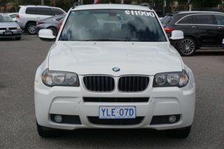 2009 BMW X3 E83 MY09 xDrive20d Steptronic Lifestyle White 6 Speed Automatic Wagon.